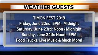 Weather Guests 06/21 - 5:30pm - Video