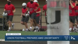 Union football prepares for season amid uncertainty