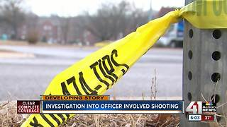 Investigation into officer involved shooting