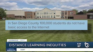 San Diego nonprofit working to solve distance learning inequities