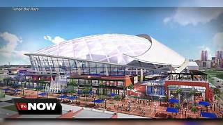 Rays ballpark plans in Ybor City include translucent roof, sliding glass walls - Video
