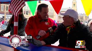 Riding the Pedalwagon through the 99th Findlay Market Opening Day Parade - Video