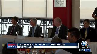 Business of Sports Luncheon - Video