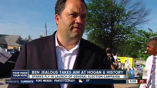 Ben Jealous takes aim at Hogan & history
