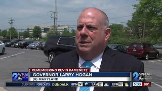 Officials react after shocking death of Baltimore County Executive Kevin Kamenetz