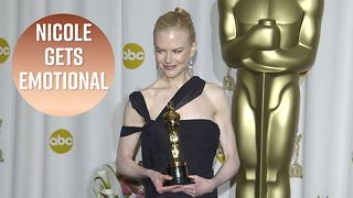 Nicole Kidman was single & lonely at her Oscar win - Video