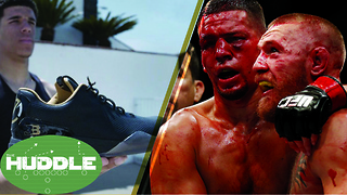 Are Lonzo Ball's Shoes OVERPRICED? Will Conor McGregor vs Nate Diaz III Ever Happen? -The Huddle - Video