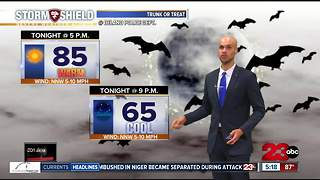 A warm weekend ahead before a CHILLY Halloween! - Video