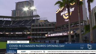 COVID-19 changes Padres opening day