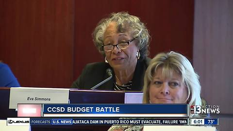 Clark County School District addresses budget short fall with parents, teachers