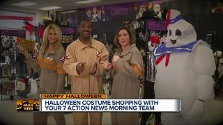 Halloween costume shopping with your 7 Action News morning team - Video