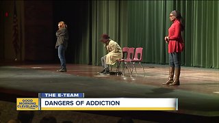 Theater troupe brings important message about addiction to Ohio in a unique way