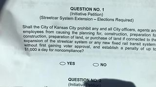 Questions raised about legality, specifics of streetcar ballot initiative - Video