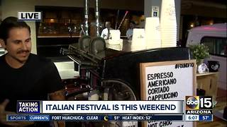 Head out to an Italian Festival this weekend in Scottsdale! - Video