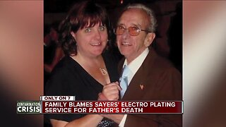 Family believes working at Electro Plating Services cost their loved one his life