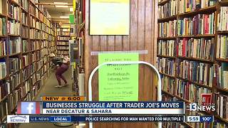 Small businesses struggling to stay open after neighboring grocery store moves out