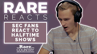 SEC Fans React to Halftime Shows | Rare Reacts