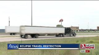 Oversized loads banned from traveling through Nebraska because of eclipse - Video