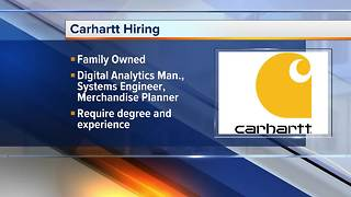 Workers Wanted: Carhartt is hiring - Video