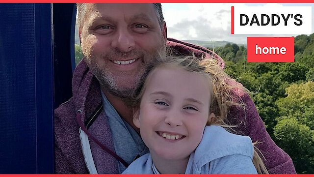 Heart-warming moment dad tells daughter he's cancer free