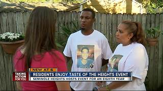 Residents enjoy Taste of the Heights - Video