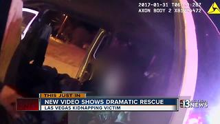 New video shows rescue of kidnapped Las Vegas woman in New Mexico - Video