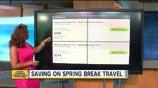 How to find the best deal on Spring Break flights for the family - Video