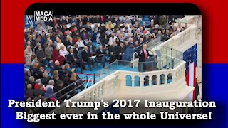 Proof that Trump's Inauguration was bigger than Obama's