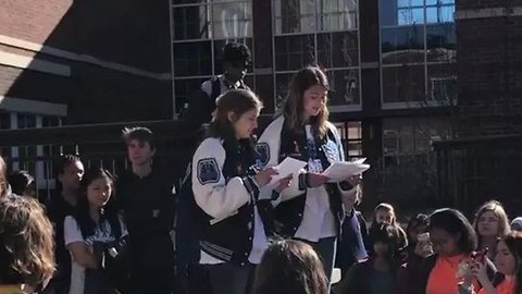 Cambridge High School Students Prevented From Finishing National Walkout Day Speech