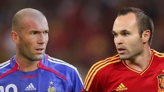 Zidane Vs Iniesta - Video