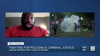 East Valley NAACP president talks about fight for justice as marches occur around the country