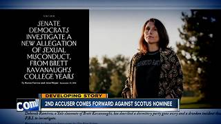 Second accuser comes forward against Kavanaugh