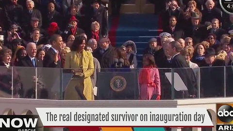 A look at the real designated survivor on inauguration day