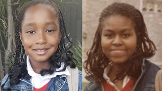 8-Year-Old Goes Viral for Dressing Up As Michelle Obama