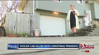 Stolen Car Filled with Christmas Presents