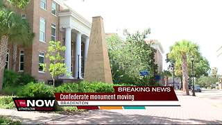 Manatee Co.votes to move Confederate monument - Video
