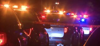 Las Vegas police: 1 person in critical after overnight shooting