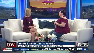 House of Blues job fair on Thursday