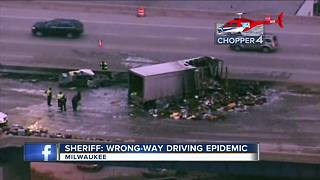 Wrong way drivers on the rise in Milwaukee County - Video