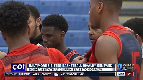 Baltimore's bitter basketball rivalry renewed