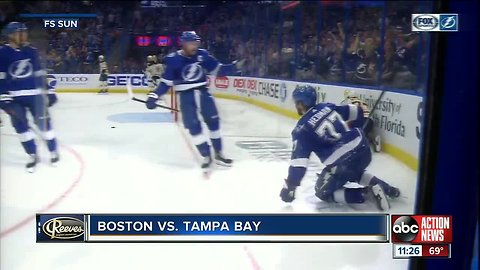 Tampa Bay Lightning rally past Boston Bruins for 59th victory; all-time win record in sight