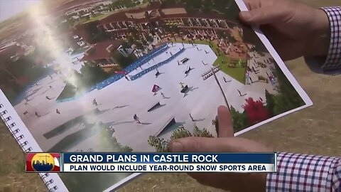 Skiing year-round? That's part of the plan at this Castle Rock development