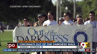 Annual Out of the Darkness Community Walk is Sunday, October 15, 2017 - Video
