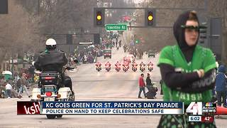 Thousands brave chilly weather to celebrate St. Patrick's Day - Video
