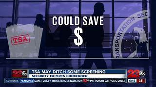 TSA screening changes - Video