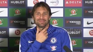 Conte hopeful 'superstitious beard' will bring more success - Video