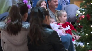 Autistic children enjoy 'Quiet time with Santa' at Meadows Mall - Video