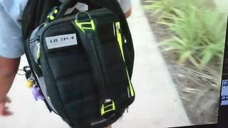 Heavy backpack could mean back pain | Digital Short - Video