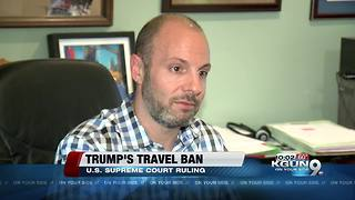 President Trump's travel ban in effect