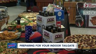 Preparing your indoor tailgate - Video